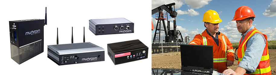3G 4G LTE WAN load balancers for oil and gas industry